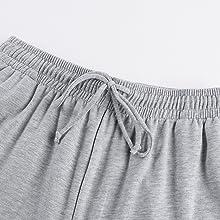 elastic waisted side pockets