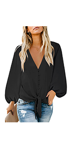 women long sleeve shirts top long sleeve blouses for women cute casual tops and blouses