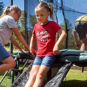 Kids love the slide