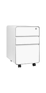 Stockpile Flat 3-Drawer File Cabinet