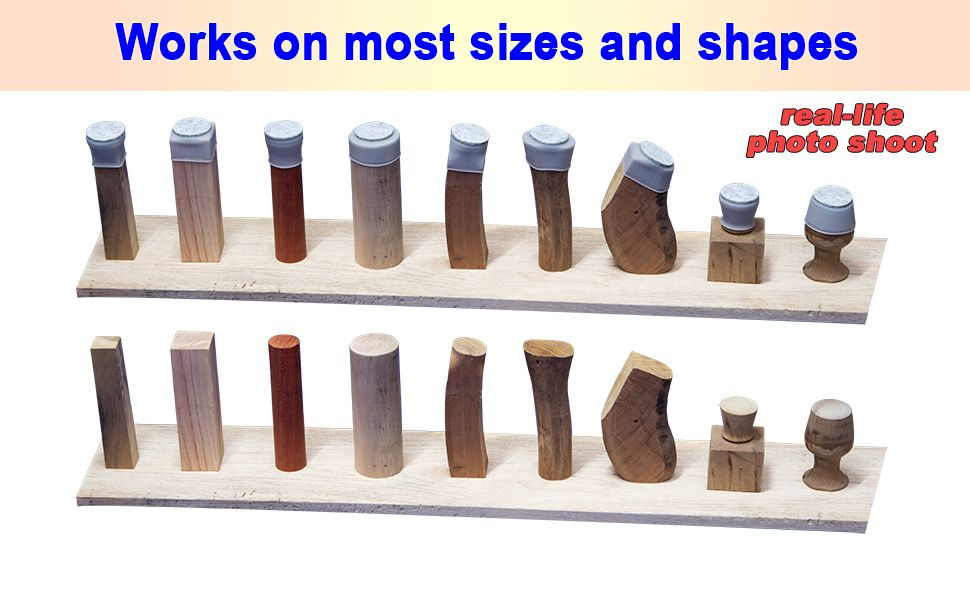Circular, rectangular, furniture, anomalous, Most sizes and shapes will work