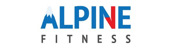 alpine fitness logo alpine choice workout chart fitness planner calendar