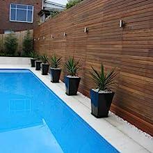 Natural saltwater swimming pools eliminate chlorine and algae