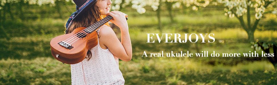 Everjoys mahogany ukulele