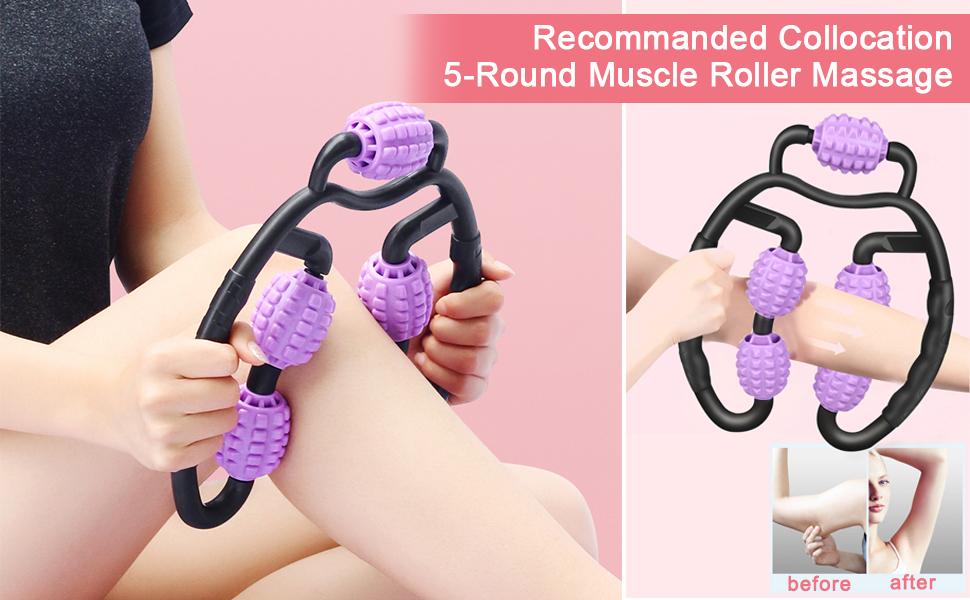 Forearm massager Massage tools & equipment Muscle roller for legs It band roller Roller for arm