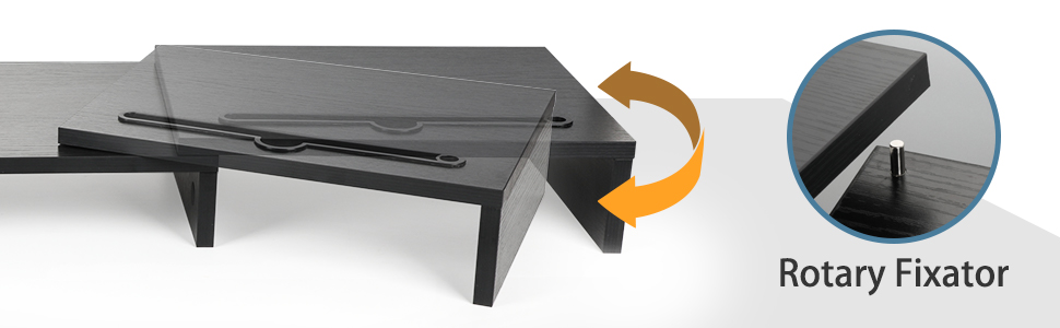 3 shelf screen stand for laptop