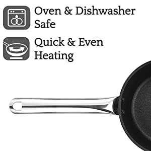 dishwasher safe soft and cool touch handles