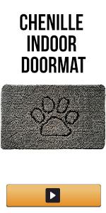 paw indoor mat