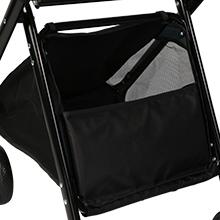 Bottom basket for convenient storage
