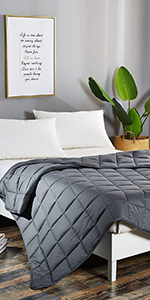 WEIGHTED BLANKET COTTON COOLING GLASS BEADS INNOVATIVE HYPOALLERGENIC BED SHEETS COMFORTER KIDS