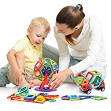 Bloques magnéticos 3d para niños
