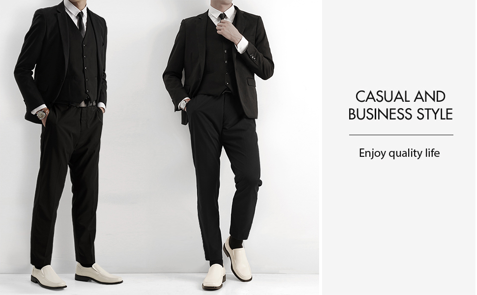 Give your outfit a classy look with these classic loafers! Featuring Faux leather upper