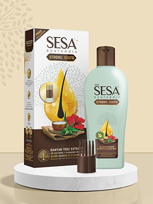 Sesa Hair Oil, Ayurvedic Oil for hair growth, Ayurvedic oil for dandruff, Ayurvedic hair fall oil