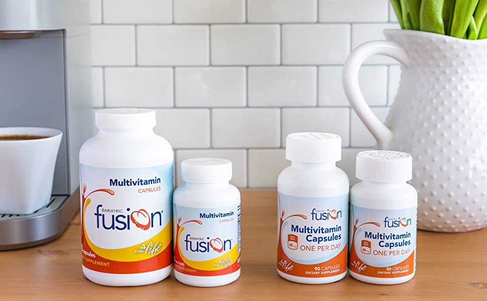 Bariatric Fusion Capsules for weight loss surgery patients