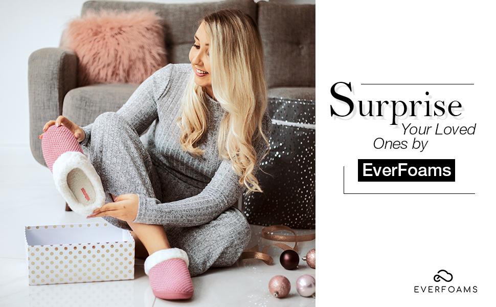 womens memory foam chenille house bedroom warm fuzzy slippers