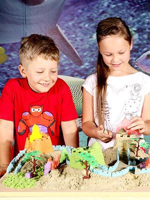 CoolSand Kids Kinetic Play Sand Activity Kits