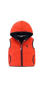 Girl Fleece Hooded Vest