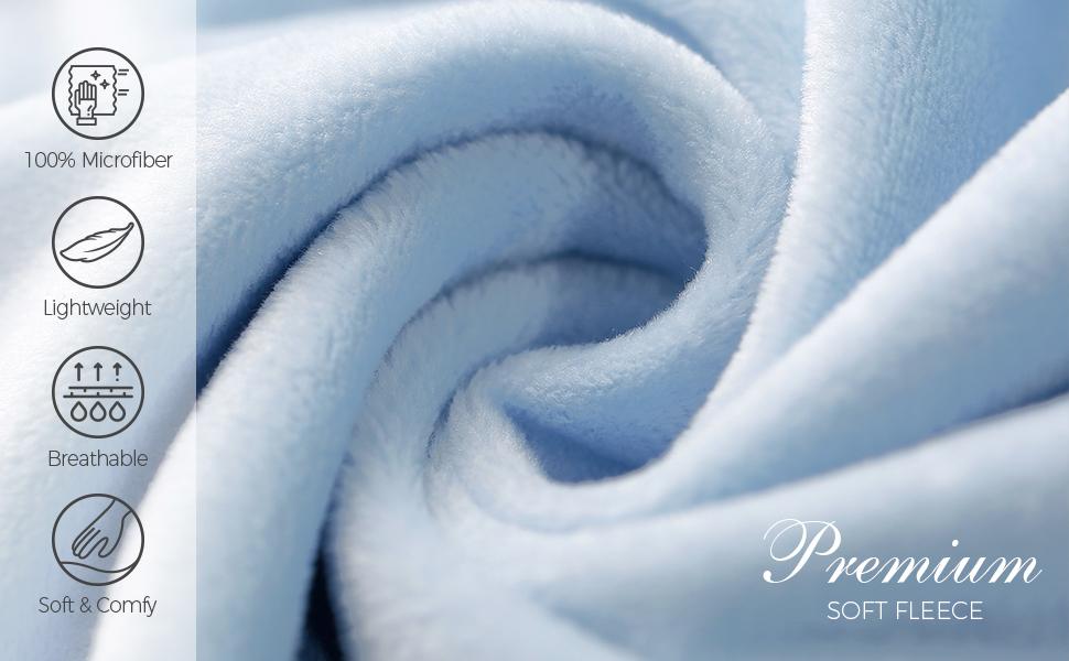 Bleu AW BRIDAL Princesse Couverture de B/éb/é pour Filles Infantile Douche Cadeau Lit de B/éb/é Literie Couverture Nouveau-n/é Recevant des Couvertures 36X36 Inch