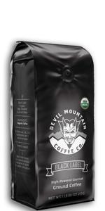 coffee, coffee mountain, ground coffee, whole bean, dark coffee, caffeine, dark roast, ground coffee