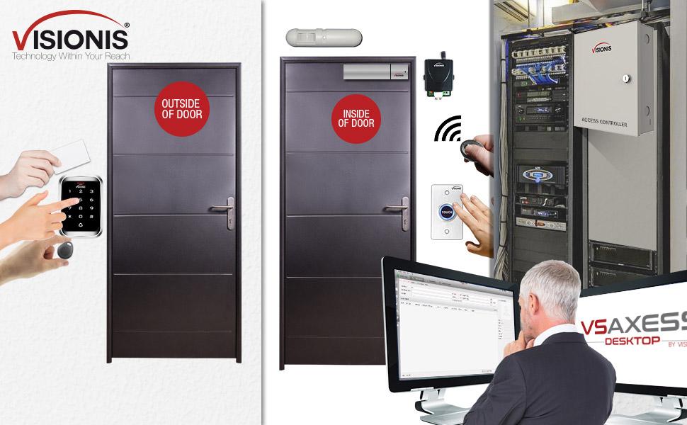 one door access control RFID reader network control panel