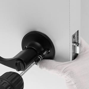 door lever handle entrance