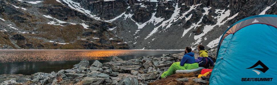 sea to summit, sleeping bag, camping