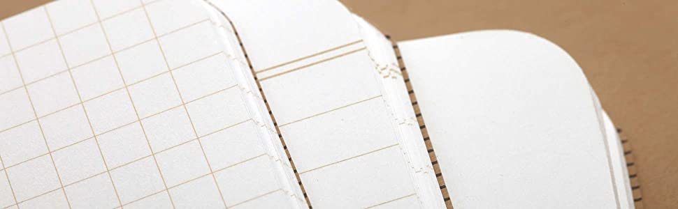field notes graph ruled plain paper