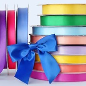 Tissue papers and ribbons for decorating PaperMart bags