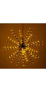 starflower lights, christmas decoration
