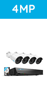 410B4-4MP home security kit