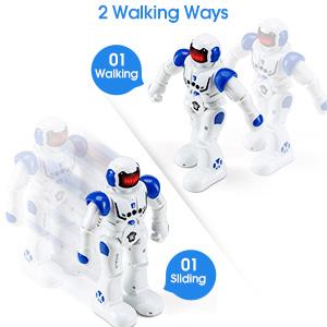 Sliding & Walking Robot Toy