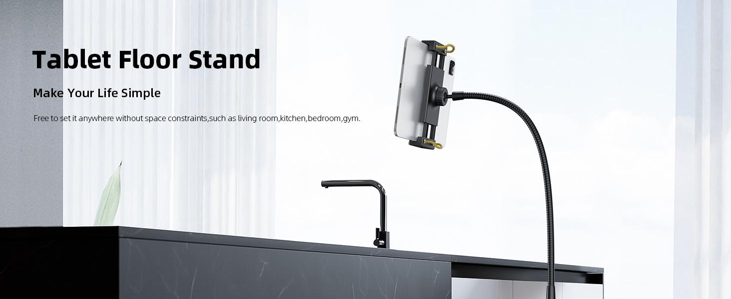 Floor Tablet Stand Holder