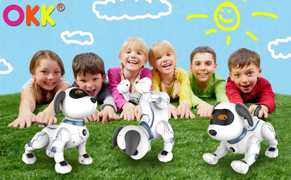 remote control smart dog for kids