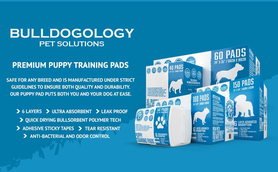 Bulldogology Housebreaking Puppy Pads Extra Large