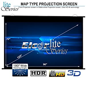 elcor projector screen 120 Inches
