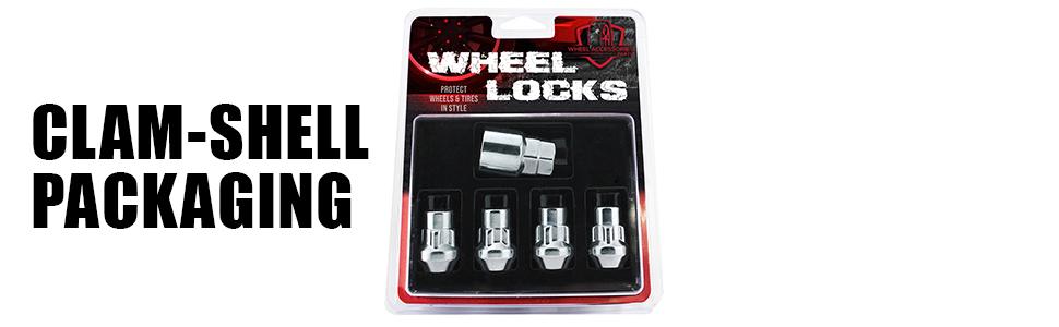 Wheel Lock Clam Shell Packaging