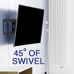 Full Motion Swivel Articulating Tilt TV Wall Mount Bracket