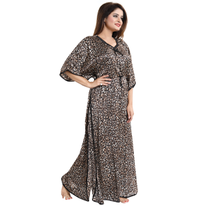 fashigo tigerprint night gown