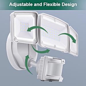 led motion sensor security light