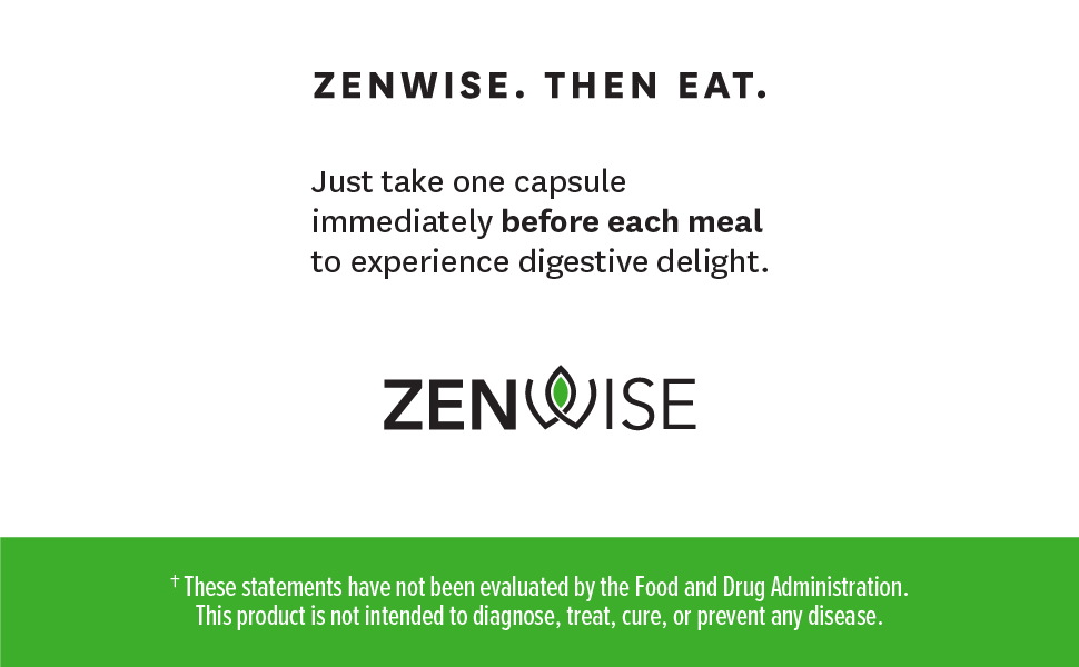 Zenwise Health, Digestive Enzymes, Digestive Support