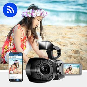 Video Camera 4K Camcorder