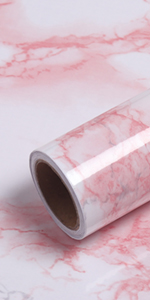 pink marble contact paper