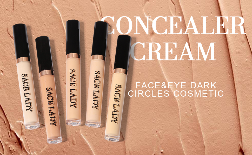 SACE LADY full coverage concealer cream perfect for eye circles dark spots face blemish impressions