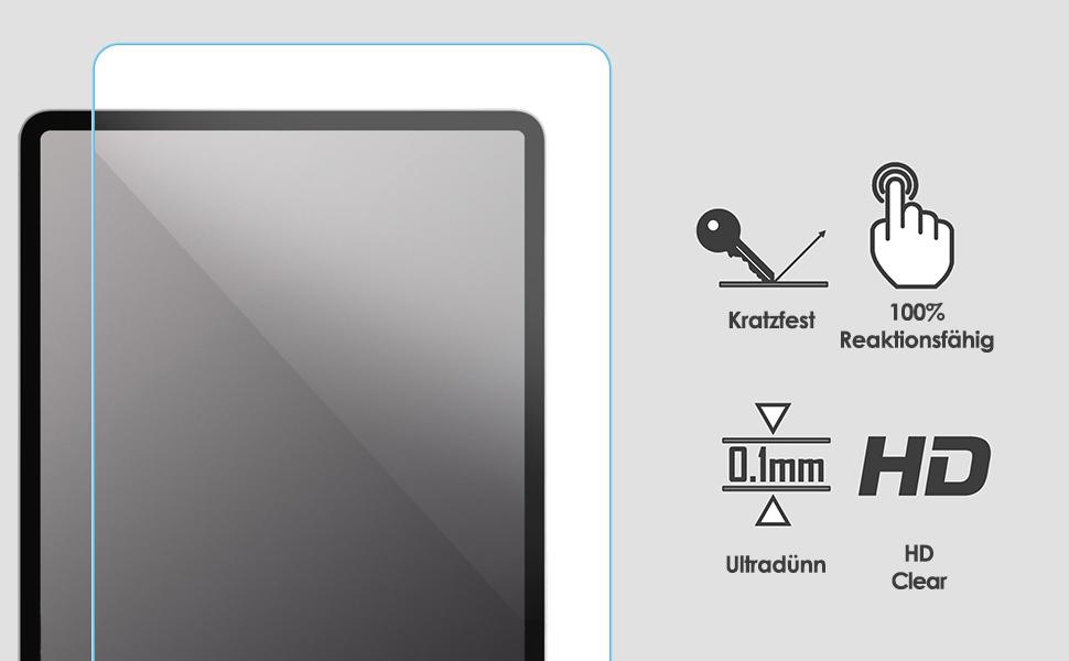 Forefront Cases Schutzfolie Für Lenovo Tab M7 5 Stück Computer Zubehör