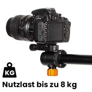 Tarion Kamera Stativ Mit Transversal Mittelsäule Kamera