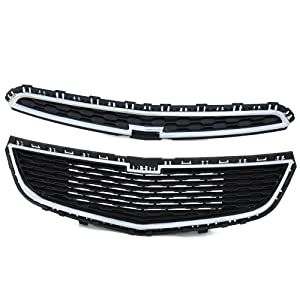 Front Bumper Upper Lower Grille For Chevy Cruze 2015