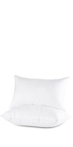 bed pillow standard queen