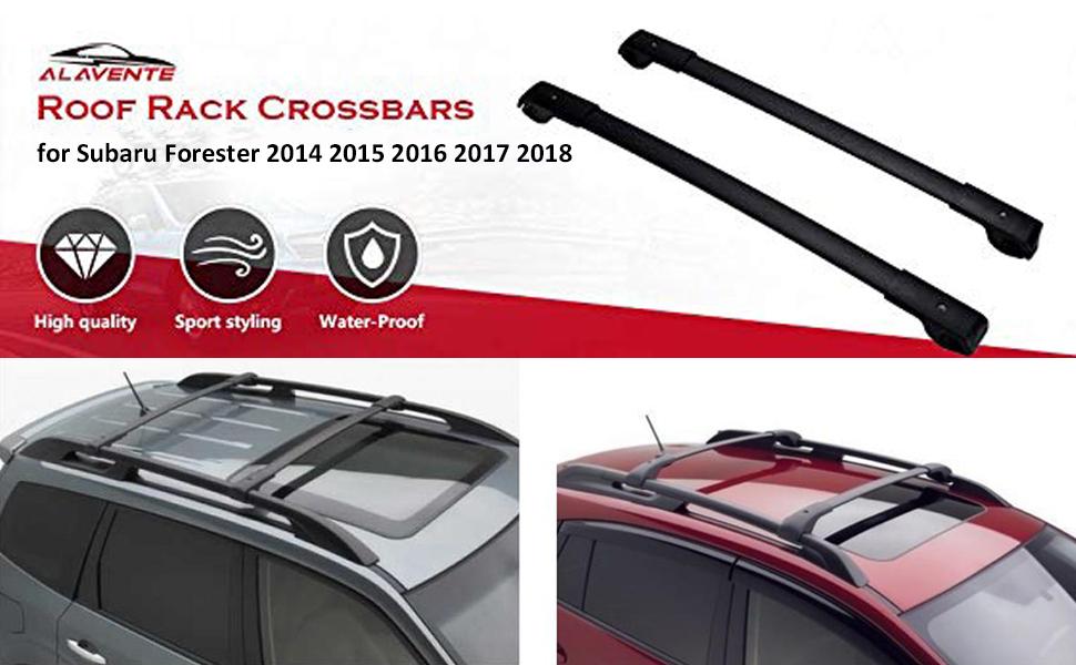 Roof Rack Dyn Bars Beta 103 120cm Subaru Forester SH Pair of 08-16