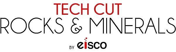 eisco tech cut rocks amp; minerals classroom scientific laboratory raw specimens hand processed rocks