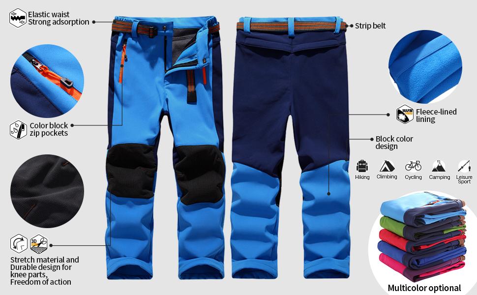 ski now fleece lined warm pants